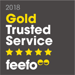 Feefo Gold Trusted Member